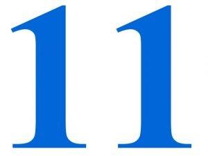11 como número maestro