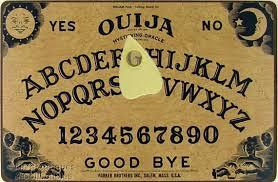 Un poco de historia de la Ouija